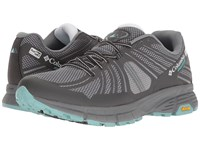 Columbia Mojave Trail Outdry Grey Ash Iceberg Women's Running Shoes Gray