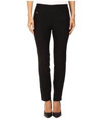 Lisette L Montreal Solid Magical Lycra Ankle Pants Black Women's Casual Pants