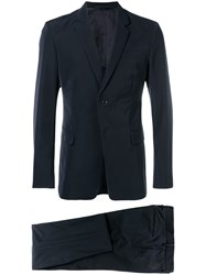Prada Two Piece Formal Suit Blue