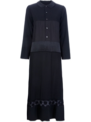 Comme Des Garcons Vintage Shirt Dress Black