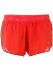 Adidas By Stella Mccartney Sport Shorts Red