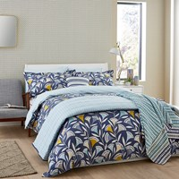 Scion Noukku Duvet Set Marine Blue