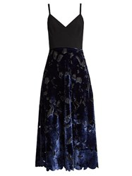 Sportmax Morena Dress Black Blue