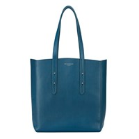 Aspinal Of London Essential Tote Peacock Blue