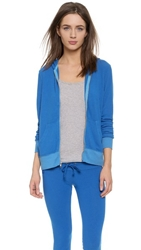 Wildfox Couture Beach Club Zip Up Hoodie Howl
