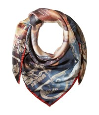 Vivienne Westwood Andreas Twill Grey Scarves Gray