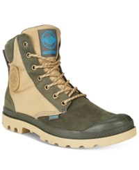 Palladium Pampa Sport Cuff Waterproof Boots Men's Shoes Army Green