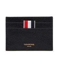 Thom Browne Diagonal Stripe Card Holder Black