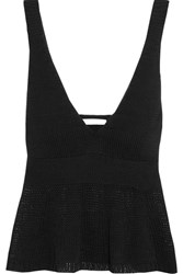See By Chloe Cotton Top Black