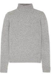 Theory Cashmere Turtleneck Sweater Gray