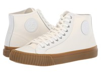 Pf Flyers Center Hi White Canvas Leather Shoes
