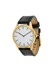 Uniform Wares C35 Two Hand Watch Metallic