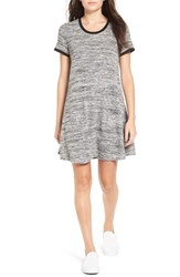 Fire Women's 'Ringer' Marled T Shirt Dress