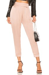 Enza Costa Pleated Jogger Rose