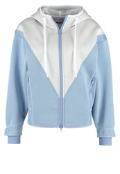 Adidas By Stella Mccartney Tracksuit Top Priblu White Light Blue