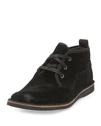 John Varvatos Star Suede Chukka Boot Black