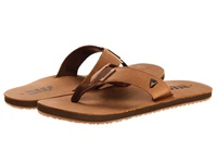 Reef Leather Smoothy Bronze Brown Men's Sandals