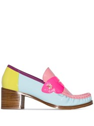 Sophia Webster X Patrick Cox Iconic 60Mm Loafers Pink