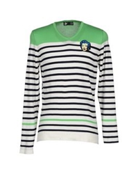 Andy Warhol By Pepe Jeans Sweaters Light Green