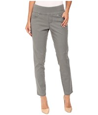 Jag Jeans Amelia Ankle In Bay Twill Shale Women's Casual Pants Brown