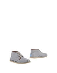 Toms Ankle Boots Grey