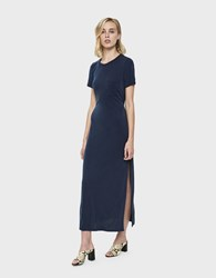 Which We Want Isla Front Pocket Maxi Dress Navy