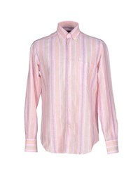 Carlo Pignatelli Shirts Shirts Men Pink