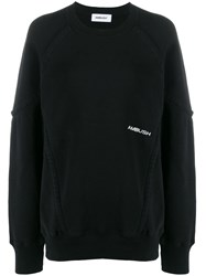 Ambush Wide Piping Sweatshirt Black