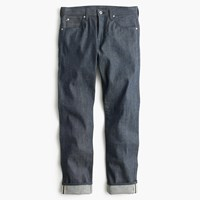 J.Crew Wallace And Barnes Slim Steel Blue Selvedge Jean