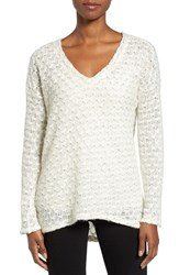Kut From The Kloth Women's Akiko Rib Knit Top New Ivory