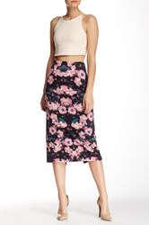 Weston Wear Long And Lean Printed Pencil Skirt Multi