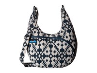 Kavu Sydney Satchel Blue Blot Satchel Handbags