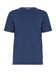Solid And Striped The Tee Cotton Jersey T Shirt Navy