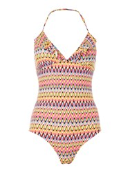 Lepel India Non Wired Swimsuit Coral