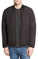 Kane And Unke Men's Quilted Bomber Jacket