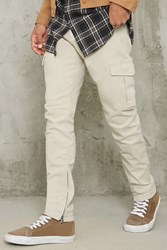 Forever 21 Twill Cargo Skinny Pants