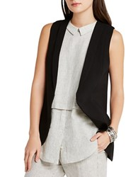 Bcbgeneration Long Blazer Vest Black