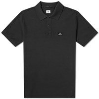 C.P. Company Patch Logo Polo Black