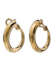 Charlotte Chesnais Yellow Gold Monie Large Clip Earrings