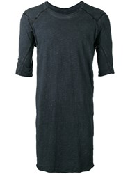 Isaac Sellam Experience Long T Shirt Grey