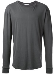 John Elliott Long Sleeve Top Grey