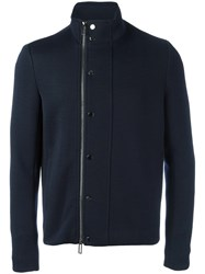 Emporio Armani Zipped Jacket Blue