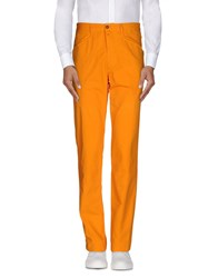 Harmontandblaine Trousers Casual Trousers Men Orange