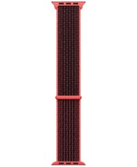 Apple Watch 42Mm Bright Crimson Black Nike Sport Loop Bright Crimson Black