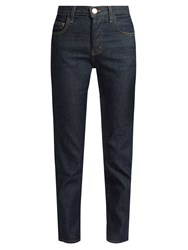 Current Elliott The Original Mid Rise Straight Leg Jeans Indigo