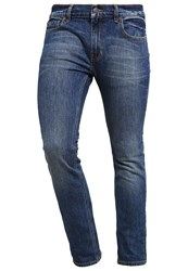 Element Boom Slim Fit Jeans Mid Used Blue Denim