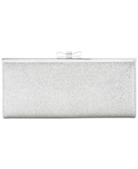 Inc International Concepts Carolyn Glitter Clutch Only At Macy's Silver