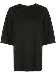Juun.J Oversized T Shirt Black