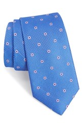 Nordstrom Men's Men's Shop Dazzle Neat Silk Tie Royal Blue