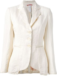 High 'Writer' Jacket Nude And Neutrals